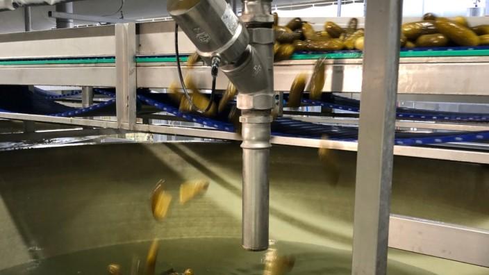 Develey Gurkenwasser/Gurkensole gegen Eisglätte