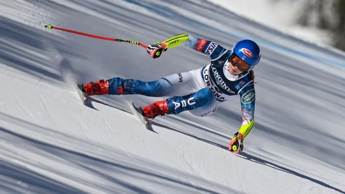 Ski alpin: Mikaela Shiffrin gewinnt die Kombination.
