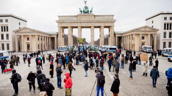 Demonstration Berlin