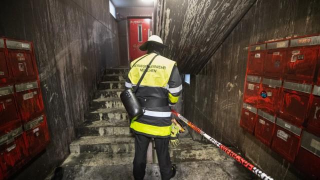 Verletzte bei Brand in Münchner Studentenwohnheim