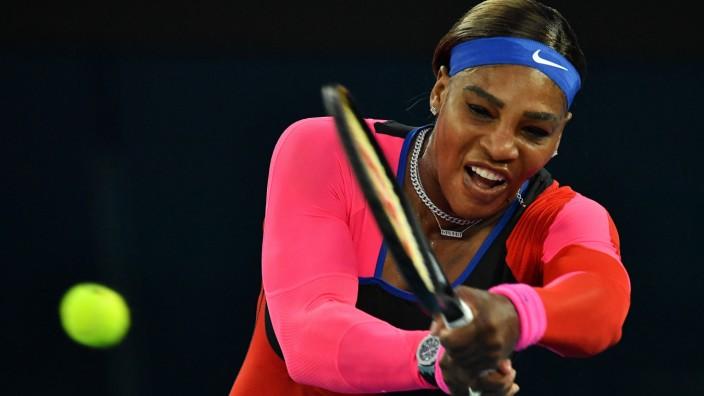 Australian Open: Zwei-Satz-Erfolg im Viertelfinale: Serena Williams.
