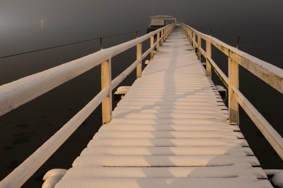 Winterwetter - Kiel