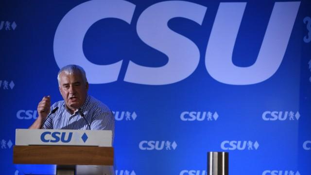 Ludwig Spaenle auf Bezirksparteitag der CSU München, 2019