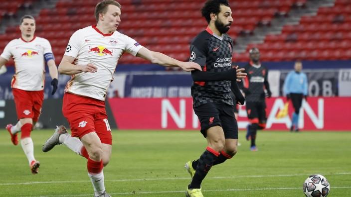 RB Leipzig v Liverpool FC  - UEFA Champions League Round Of 16 Leg One