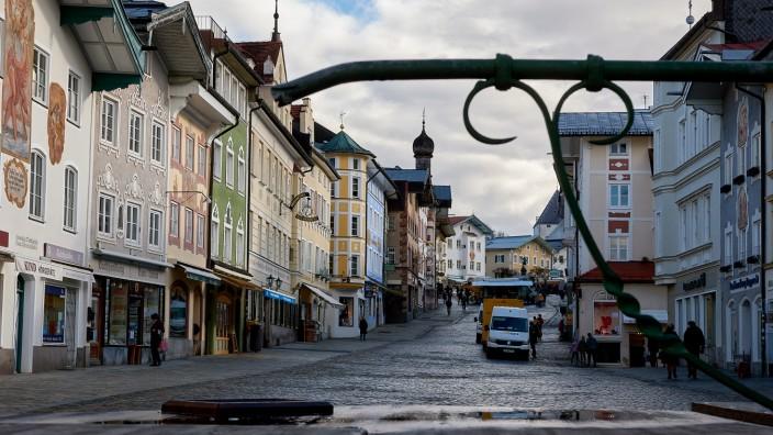 Tölzer Marktstraße nach Lockdown