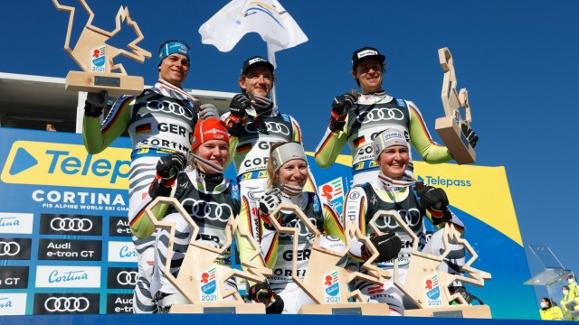 FIS World Ski Championships - Team's Parallel Event