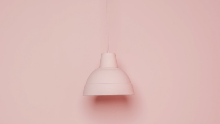 pink lamp on pink background, Model released, Property released Copyright: xMarcosxOsoriox