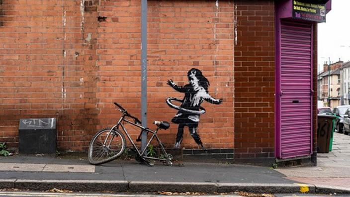 Banksy-Werk in Nottingham verkauft