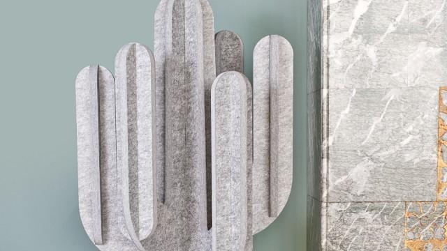 Kurz gesichtet: Schön still: Akustik-Kaktus von Marie Aigner für Pinta.