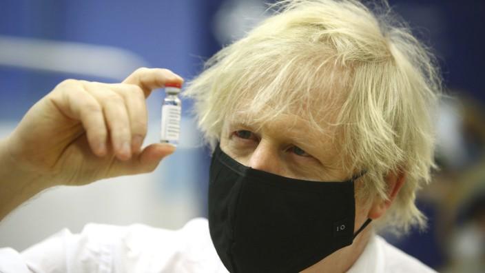 """Vakzin-Verhandlungen: """"Bestmögliche Anstrengungen"""": Astra Zeneca hat dem britischen Premier Boris Johnson wohl nichts anderes versprochen als der EU-Kommissionspräsidentin Ursula von der Leyen."""