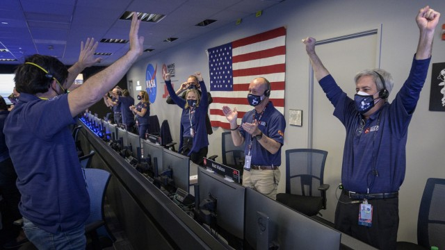 "Nasa-Rover ´Perseverance"" auf dem Mars gelandet"