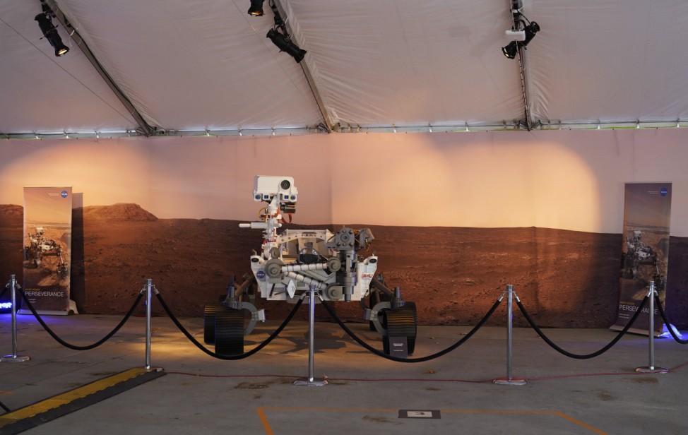 """Nasa-Rover ´Perseverance"""" soll auf dem Mars landen"""