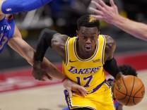 Lakers-Profi Schröder steht auf Corona-Liste der NBA