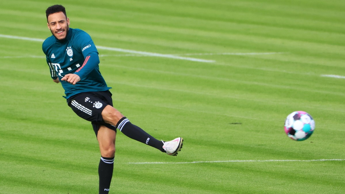 Image FC Bayern: Tolisso fällt