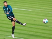 02.02.2021, FC Bayern Training, Saebenerstrasse Muenchen, im Bild: Corentin Tolisso (FCB) *** 02 02 2021, FC Bayern tra