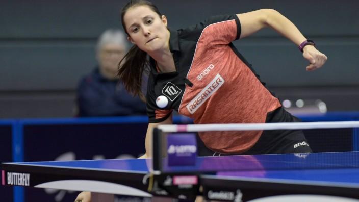 Tischtennis German Open 2020 am 29.01.2020 in der GETEC-Arene in Magdeburg Sabine Winter *** Table tennis German Open 2