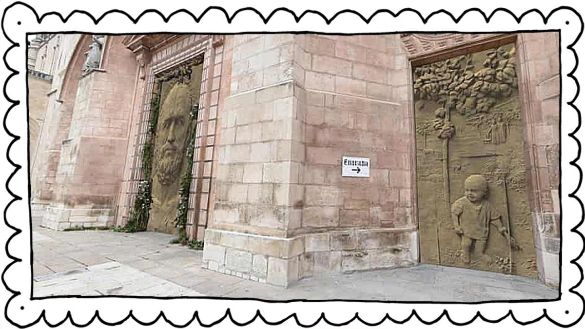 Burgos in Spanien: Bitte nicht diese Türen!