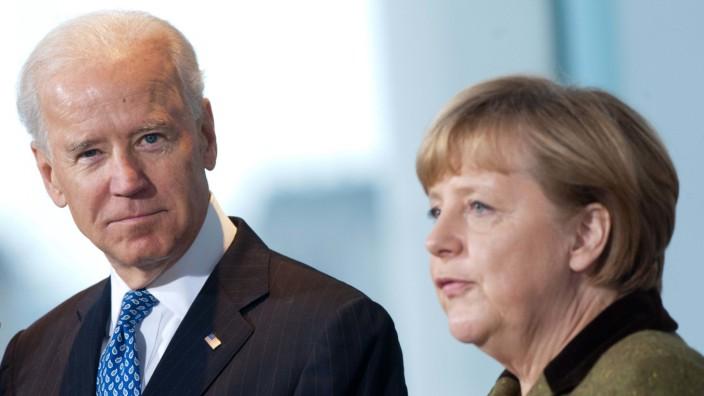 Biden und Merkel bei G7-Gipfel und Sicherheitskonferenz