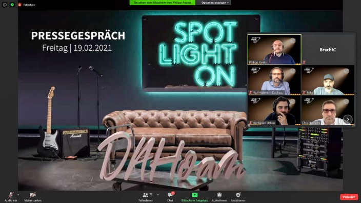 Spotlight in DAHoam