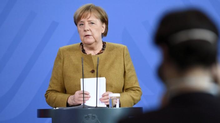 G7-Gipfel - Pressekonferenz Merkel