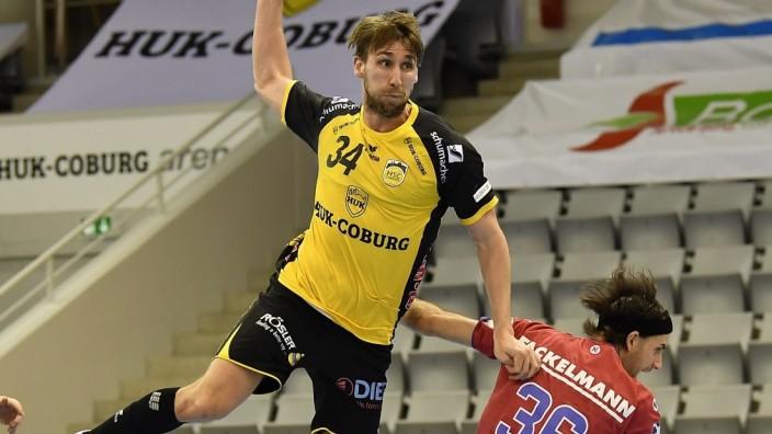 18.02.2021 - Handball - 1. Bundesliga LIQUI MOLY HBL - Saison 2020 2021 - 19. Spieltag: HSC 2000 Coburg - HC Erlangen M