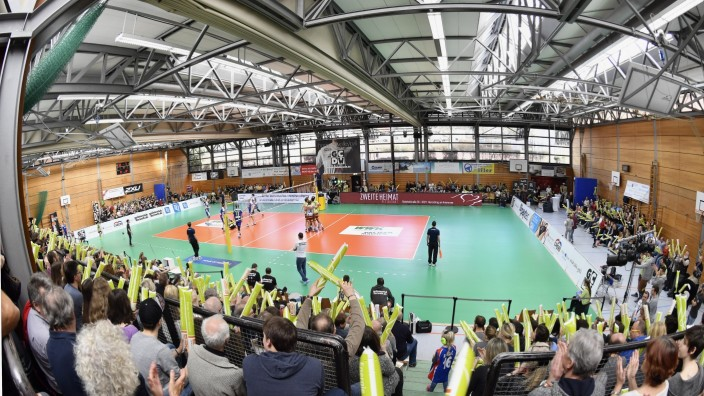 Herrsching Volleyball Bundesliga GCDW, Nikolaushalle