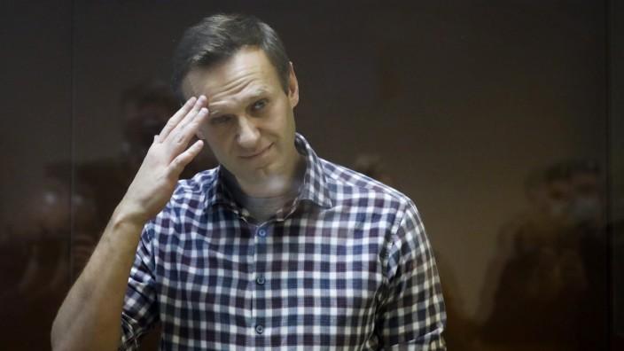 Gerichtsprozess gegen Kremlkritiker Nawalny