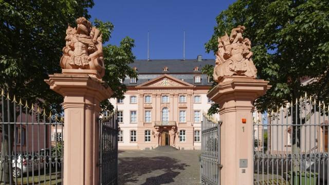 Landtag Rheinland-Pfalz im Deutschhaus, Mainz, Rheinland-Pfalz, Deutschland, Europa Copyright: imageBROKER/MartinxSiepm