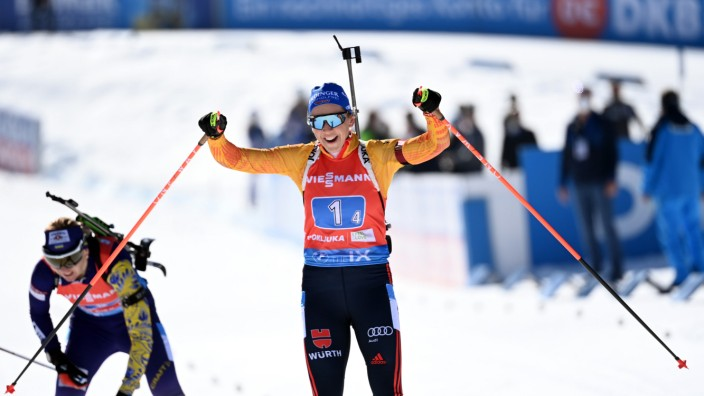 Biathlon - Weltmeisterschaft