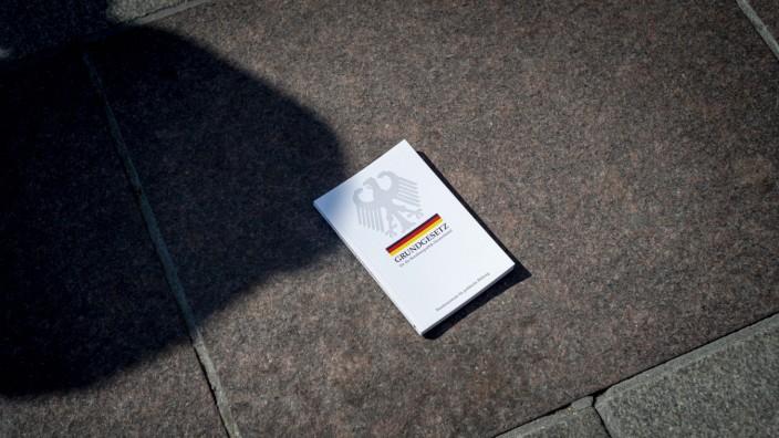 Demonstration gegen die Corona-Maßnahmen in München, 2020