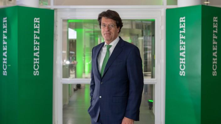News Bilder des Tages Schaeffler Bilanz PK der Schaeffler AG CEO Klaus Rosenfeld München Bayern De