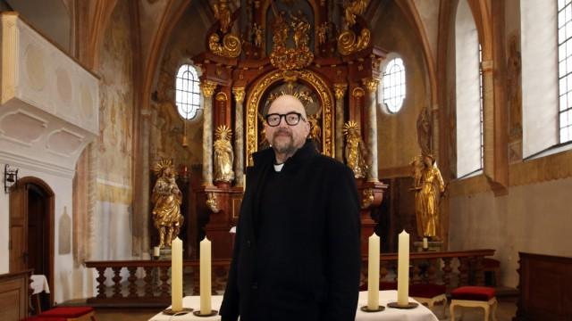 Interimspfarrer Stefan Scheifele