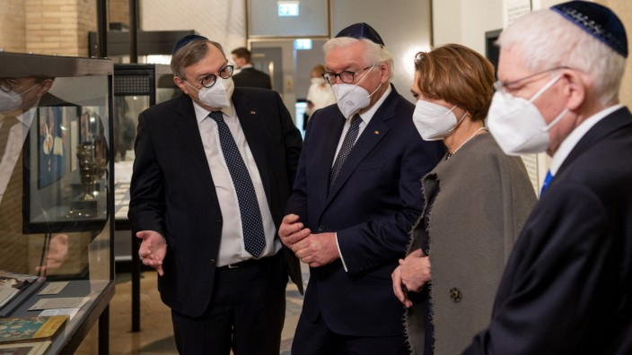 """Steinmeier: Neuem Antisemitismus ´entschieden entgegentreten"""""""