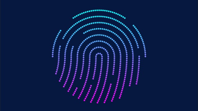 Abstract fingerprint concept, security password concept PUBLICATIONxNOTxINxCHN 804987844701847599
