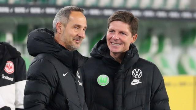 Bundesliga: Die Trainer Adi Hütter (Eintracht Frankfurt) und Oliver Glasner (VfL Wolfsburg)