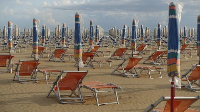 Italien Bibione Strand Italy Bibione Beach
