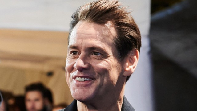 Comedian Jim Carrey