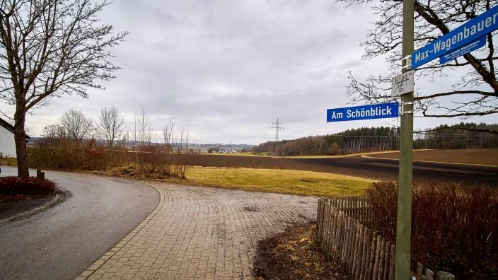 Grafing am Schönblick wg. Baugebietserweiterung