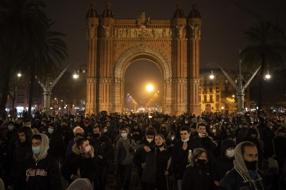 Proteste in Spanien nach Rapper-Festnahme