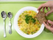 Gulasch oder Hirsesuppe? - Vegetarisches Schulessen hat es schwer