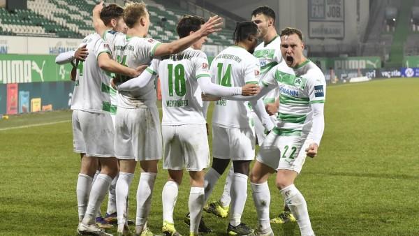 22.02.2021 - Fussball - Saison 2019 2020 - 2. Fussball - Bundesliga - 22. Spieltag: SpVgg Greuther Fürth ( Kleeblatt )
