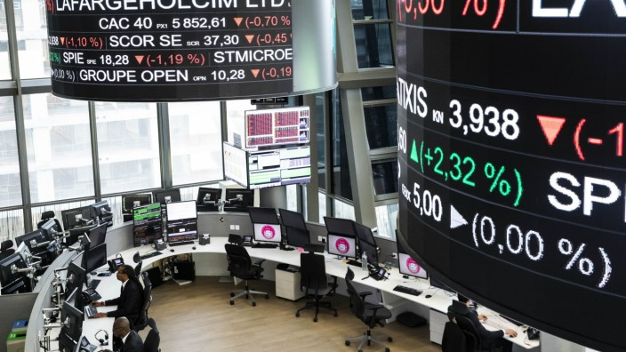 Paris, France, November 21th, 2019 - Illustration of the Euronext Paris stock exchange. PUBLICATIONxNOTxINxFRA Copyright