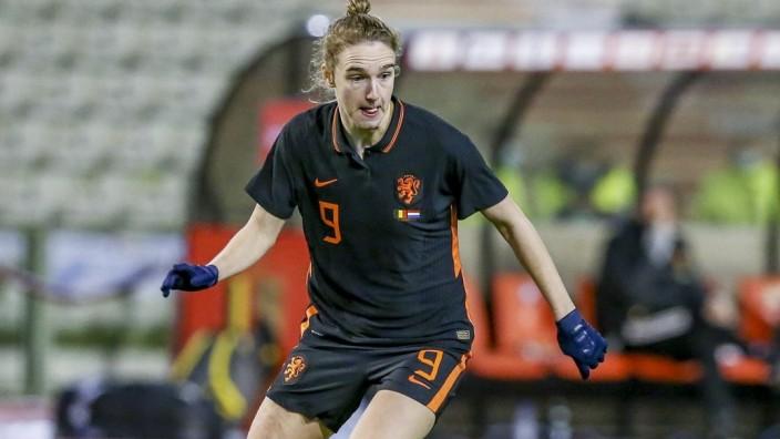 BRUSSEL, 19-02-2021 ,Koning Boudewijn Stadion Friendly, Dutch football, season 2020/2021, Netherlands player Vivianne Mi; Fußball - Frauen - Niederlande Vivianne Miedema