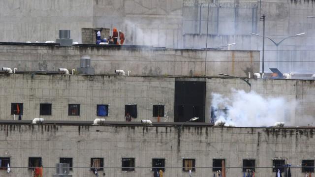 Gefangenenmeutereien in Ecuador