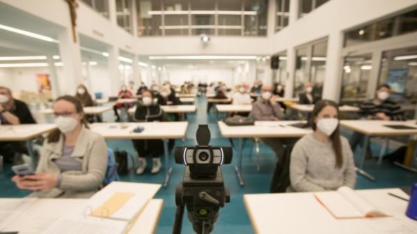 BA Schwabing-Freimann mit Livestream und Konferenzschaltung