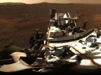 Raumfahrt: Mars-Rover schickt spektakuläres Panoramabild
