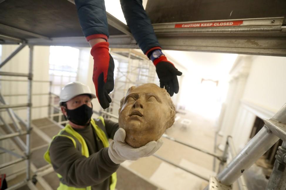 BESTPIX - Historic Royal Palaces Conservation Work At Kensington Palace