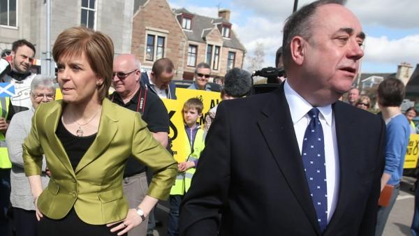 Nicola Sturgeon, Alex Salmond, Schottland