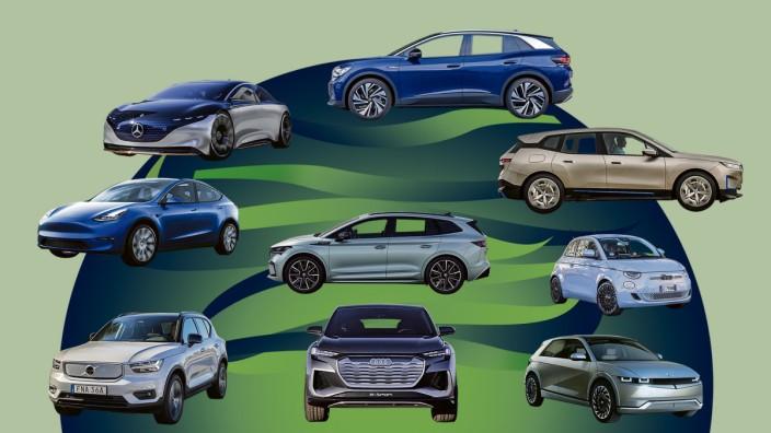 Elektromobilität: Vom Kleinwagen bis zum Luxus-SUV: Die Auswahl bei Elektroautos ist groß.