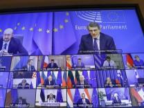 Coronavirus weltweit: Merkel informiert über Corona-Beratungen beim EU-Gipfel